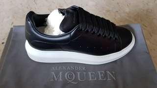 Alexander McQueen Sneaker Pelle S. Gomm Black