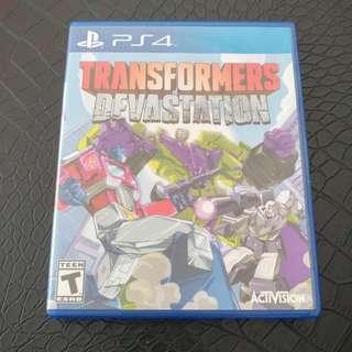 Transformer Devastation PS4 ( Playstation, Xbox, Nintendo )