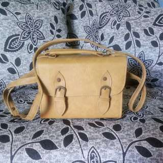Small satchel sling bag