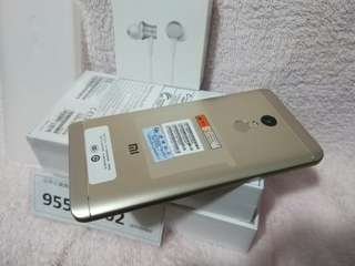 Xiaomi Redmi Note 4X, Gold 3+32G, Global/Hong Kong Version