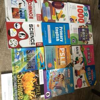 PSLE Primary 6 P6 assessment books - ALL @ $30