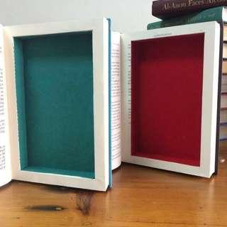 Secret Book Safe Homemade