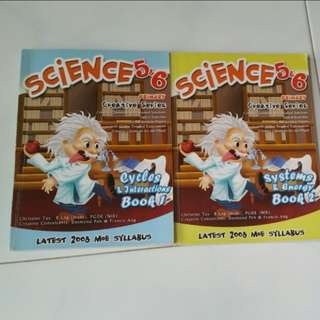 Brand New Science 5&6 (Book 1 and Book2) – By Just Education