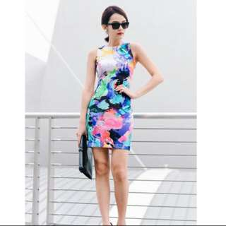 Fashmob Color Me shift dress