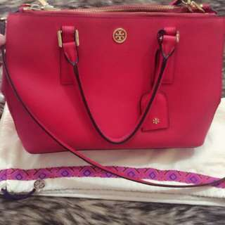 Tory burch double zip
