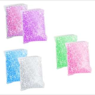 150grams FISHBOWL BEADS FOR SLIME SLUSHEE BEADS