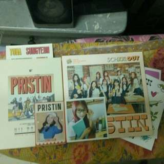[COMBO SET!] PRISTIN ALBUMS READY STOCK