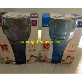 Macdonald Coca Cola Glass