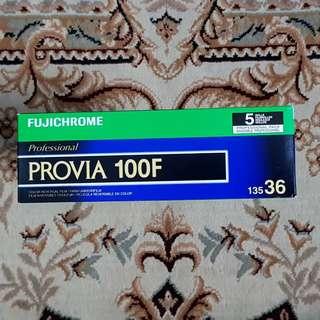 35mm Fuji Fujichrome Provia 100F Fresh Slide Film ( iso 100 ) 135 format