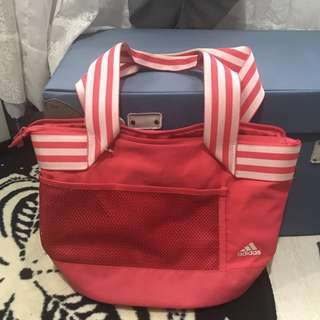 Adidas Pink Bag (Original) -Medium Size-