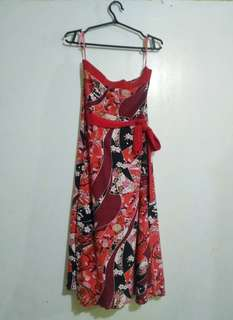 Pre-loved floral tube dress