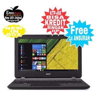 "Cicilan Acer Aspire ES1-132-Core/2/500Gb/12""-ditoko ktp+kk bisa 081905288895"