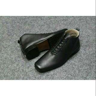 Sepatu pria cevany woody kulit