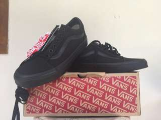 Vans old skool full black original