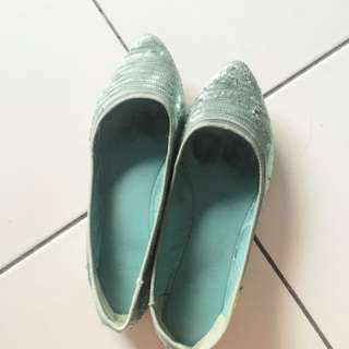 Blink flat shoes tosca