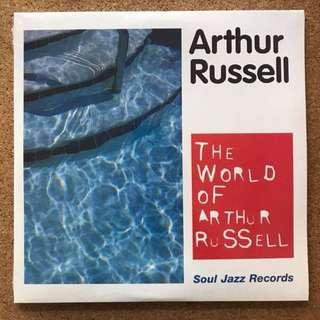 The World of Arthur Russell 3xLP (Soul Jazz)