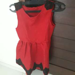 Red Mini Dreas