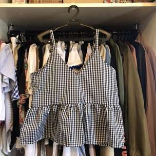 Unbranded Gingham Top