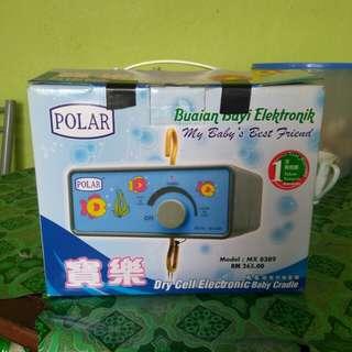 Buaian Bayi + Electronic Motor