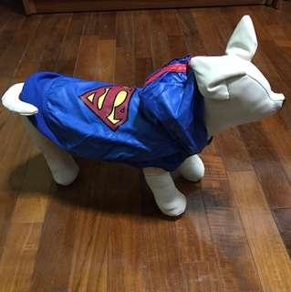 Dog Superman suit