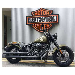 Harley-Davidson Softail Slim S with Screaming Eagle 110ci