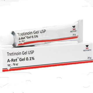 Authentic : A- Ret Gel 0.1% (Tretinoin Gel USP)