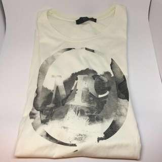 Alexander McQueen McQ Mens T Shirt - Size M (White)