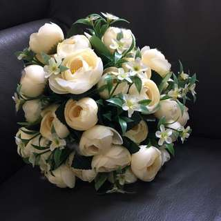 結婚外景,行禮絲花花球