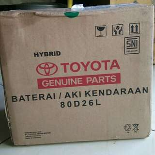 Accu hybrid Toyota 80D26L Orisinil