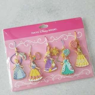 Tokyo Disneyland Cookie Princess Keychains