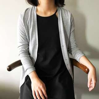 Cotton On Basic Gray Cardigan
