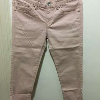 Celana jeans baby pink