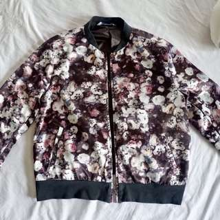 Mossimo Floral Bomber Jacket