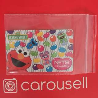 Limited Edition brand new Sesame Street Elmo Nets Flash Pay Card For $13.90.