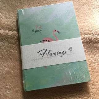 Flamingo Hardbound Notebook (Green)
