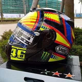 AGV & SHOEI Fullface Helmet VR46