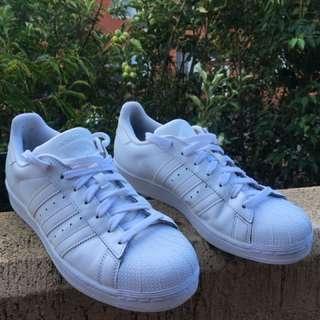 Adidas Superstars Triple White