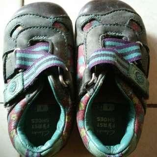 Clarks shoe for 1-2 yo girl