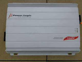 COUSTIC POWER LOGIC AMP-460 POWER AMP,CAR AMP,CAR AMPLIFIER