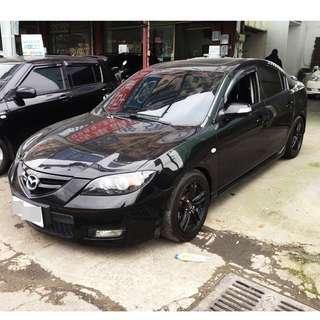【阿信嚴選中古車】100% 實車實價 2007 MAZDA3 2.0 S款 免頭款 全額貸 超額貸 私下分期