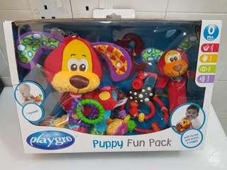 Playgro Puppy Fun Pack