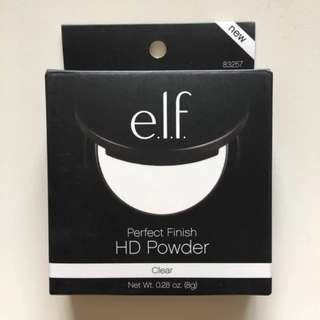 e.l.f. elf Perfect Finish HD Powder Sheer / Clear