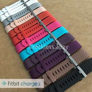 🍀Fitbit Charge 2 Diamond Beveled Bands