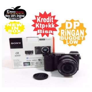 Sony Alpha A6000 Kit 16-50mm Resmi-cash/kredit ditoko ktp+kk bisa 081905288895