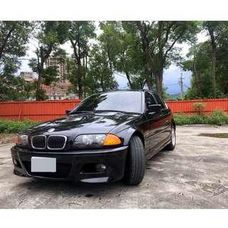 【阿信嚴選中古車】100% 實車實價 1998 E46 320I M包 2.0 免頭款 全額貸 超額貸 另有私下分期
