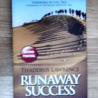 $5 success motivational books inspire you to greater achievements in life. runaway success. brand new book