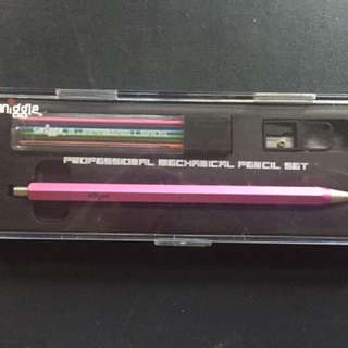 Smiggle Professional Mechanical Pencil Set