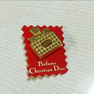 Christian Dior Vintage Limited Edition Miss Dior Pin