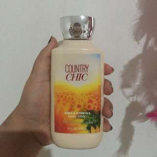 Bath&body works 'country chic' body lotion shea&vitamin E