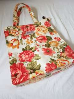 Authentic Jane Lily Tote Bag